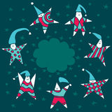 Stars-kids Stock Image