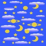 Stars l'involucro di regalo royalty illustrazione gratis