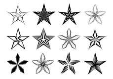 Stars la colección Foto de archivo libre de regalías