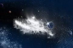 Stars la galassia royalty illustrazione gratis