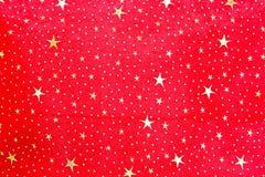 Stars la materia textil imagen de archivo libre de regalías