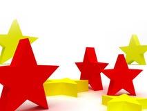 Stars la priorità bassa Immagine Stock Libera da Diritti