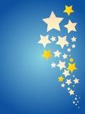 Stars la priorità bassa Immagini Stock Libere da Diritti