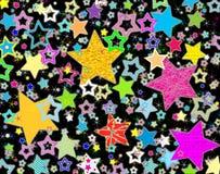 Stars la priorità bassa Immagini Stock