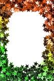 Stars la struttura dei coriandoli Fotografia Stock Libera da Diritti