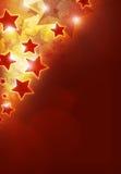 Stars le fond Image stock