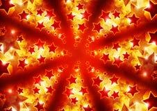 Stars le fond Image libre de droits