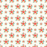 Stars on a light background seamless pattern. (vector eps 10 Royalty Free Stock Image