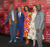 Stars Line Up for NY Premiere of `The Immortal Life of Henrietta Lacks` Stock Photos