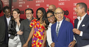 Stars Line Up for NY Premiere of `The Immortal Life of Henrietta Lacks` Royalty Free Stock Image