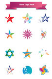 Stars Logo Pack Royalty Free Stock Images