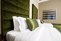 5 stars luxury hotel room, luxurious bedroom in a hotel Royalty Free Stock Photo