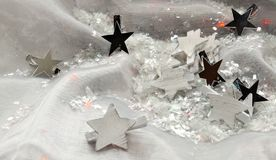 Stars for magical Christmas Stock Photo