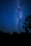 Stars Milky Way in the night sky Royalty Free Stock Image