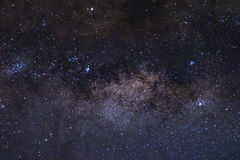 Stars and the milky way in the sky stock images