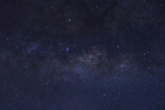 Stars and the milky way in the sky royalty free stock photo