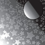 Stars moon Stock Photo