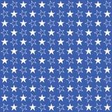 Stars navy blue pattern, vector illustration, seamless star background vector illustration
