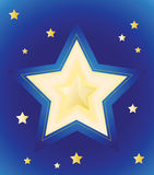 Stars in night Royalty Free Stock Image