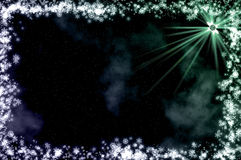 Stars at night royalty free stock photography