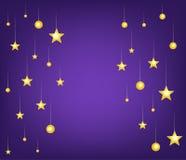 Stars night background Royalty Free Stock Photography