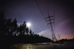 Stars in the night Stock Photo