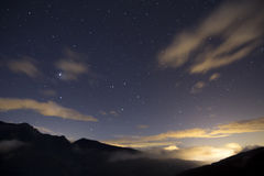 Stars at night Stock Image
