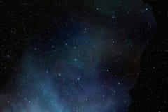Stars at night sky Stock Photo