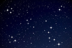 Stars in the night sky Royalty Free Stock Photography