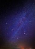 Stars in night sky Royalty Free Stock Photos