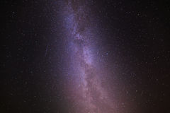 Stars in the night sky. Stock Images