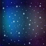 Stars in the night sky background Stock Photos