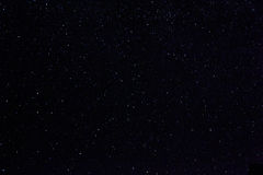 Stars in night sky. Space, skyscape and astronomy - stars in night sky Stock Photography