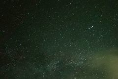 Stars in the night sky. For background stock images