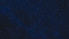 Stars in the night sky time lapse stock video footage