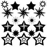 Stars o ícone Imagens de Stock