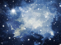 Stars o céu Foto de Stock Royalty Free