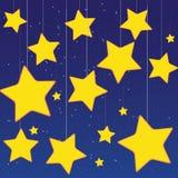 Stars o céu Foto de Stock