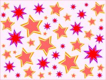 Stars o fundo Foto de Stock Royalty Free