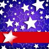 Stars o fundo Imagem de Stock