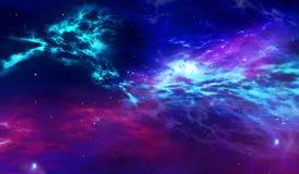 Stars o nascimento na galáxia ilustração royalty free