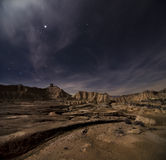 Stars over the desert Stock Photography