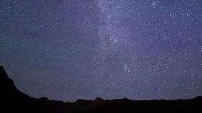 Stars over the mountains. Time Lapse. 4K. Stars over the mountains. Time Lapse. Video. UltraHD (4K stock video