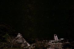 Stars over Palenque Stock Photo