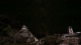 Stars Passing over Palenque