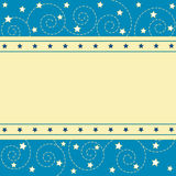 Stars pattern Stock Photography