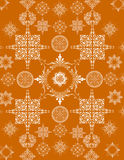 Stars pattern Stock Image