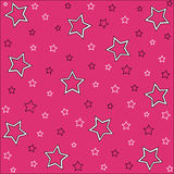 Stars pattern Stock Photo