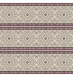 Stars Pattern. Stylized Stars pattern. Based on cultural Persian motifs Stock Images