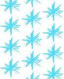 Stars pattern. Royalty Free Stock Image